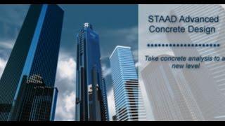 STAAD Advanced Concrete Design