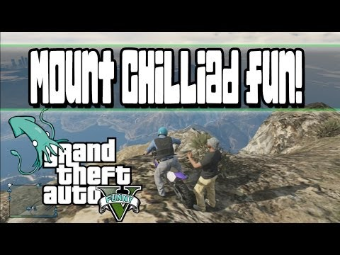 GTA 5 Funny Moments Ep.23 (Mount Chilliad Fun,Bukaki Adventure )