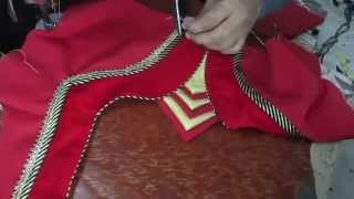getlinkyoutube.com-How to make Fashionable designer blouse K part 6 of 7