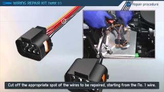 getlinkyoutube.com-car wiring repair الطريقة الصحيحة لي اصلاح ضفيرة السيارات