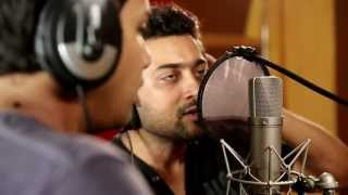 getlinkyoutube.com-Surya singing for the first time- Watch Surya singing full unseen video