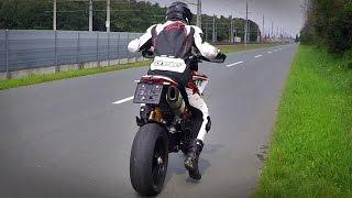 getlinkyoutube.com-Ducati Hypermotard - Full Termignoni sound test / no DB eater