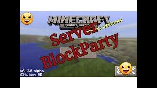 getlinkyoutube.com-Server BlockParty MCPE / Juliioxx626
