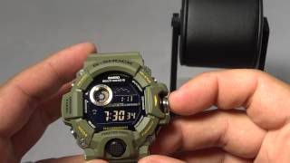 getlinkyoutube.com-CASIO G-SHOCK REVIEW PROS AND CONS ON GW-9400-3 GREEN RANGEMAN