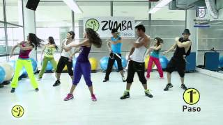 "getlinkyoutube.com-Zumba Primer Flash Mob en Chile cancion: ""Sube las manos pa`arriba"""