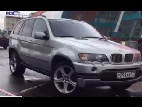 Воротников на тесте BMW X5 E53