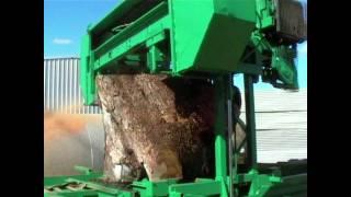 getlinkyoutube.com-Band Sawmill - For Sale - mobile diesel hydraulic sawmill 5
