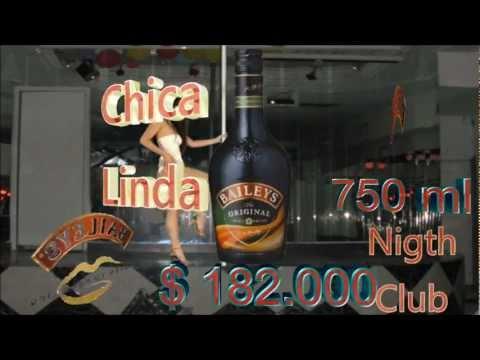 Chica Linda Night Club Menu Interactivo