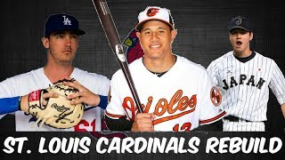 MLB 17 THE SHOW REBUILDING THE ST. LOUIS CARDINALS!! 30 to 1 Rebuild #15