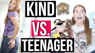 getlinkyoutube.com-KIND VS. TEENAGER! Wie DEIN LEBEN früher war und heute! | LaurenCocoXO