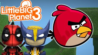 getlinkyoutube.com-COOL GADGETS! | Angry Bird Bomb Survival | Little Big Planet 3 Multiplayer (6)