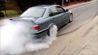 getlinkyoutube.com-Hamownia Leżajsk: BMW e36 325I + palenie gumy - V-Tuning.pl