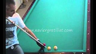 getlinkyoutube.com-Xavier Gretillat - série de 300 points au cadre 71/2 - 2011
