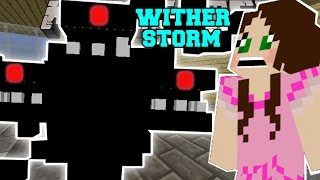 getlinkyoutube.com-Minecraft: WITHER STORM (MUTANT WITHER TAKES OVER MINECRAFT!) Custom Command