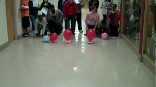 getlinkyoutube.com-Liberty High School Balloon Powered Race Car Challenge