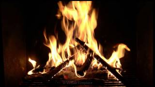 getlinkyoutube.com-Virtual Fireplace: Campfire Style Fireplace with Crackling Fire Sounds (HD)