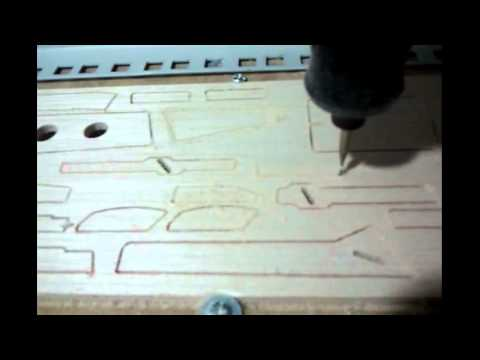 Corte cnc madera balsa aeromodelismo Utrera 4mm