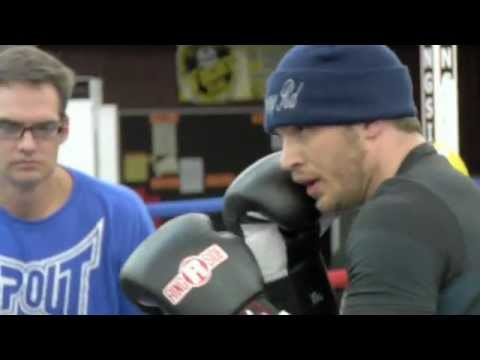 Tom Hardy & Joel Edgerton learn to fight