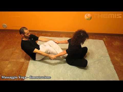Dimostrazione del Massaggio Yoga