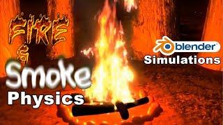getlinkyoutube.com-Blender Fire & Smoke Compilation
