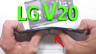 getlinkyoutube.com-LG V20 Scratch Test - Bend Test - BURN test - Durability Video!