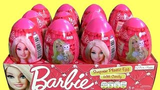 getlinkyoutube.com-Barbie Easter Eggs Toy Surprise ❤NEW❤ Huevos Sorpresa Muñecas Barbie para Niñas ToysCollector