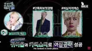 getlinkyoutube.com-[ENGSUB] 150901   GOT7 , BigBang , VIXX  , EXO - IDOl GOT10 Ranking Weekly ep 15
