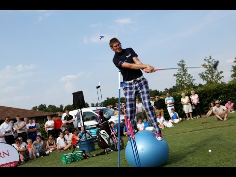 Golf Tricks Show Entertainer