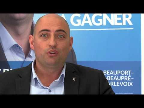 Élections 2015 - Sébastien Dufour veut travailler avec le milieu
