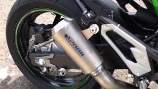 getlinkyoutube.com-SPARK full titanium exhaust for Kawasaki z800