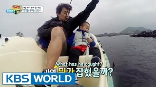 getlinkyoutube.com-The Return of Superman - The Triplets Try Fishing