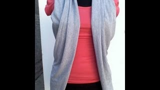 getlinkyoutube.com-DIY crea un chaleco con tu pañuelo