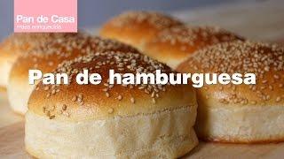 Receta  Pan de Hamburguesa