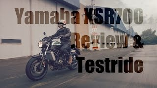 getlinkyoutube.com-Yamaha XSR700 Review & Testride! A cross-dressing MT-07?
