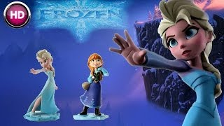 disney infinity - frozen elsa - playset - toy box gameplay (hd)