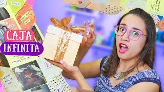 getlinkyoutube.com-CAJA INFINITA ¡Sorpresa interminable! Regalos bonitos: mamá, novio, amiga ✎ Craftingeek
