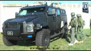 getlinkyoutube.com-Alpine Armoring Pit Bull VX Armored  SWAT Truck