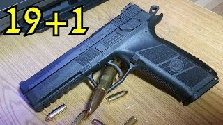 getlinkyoutube.com-CZ P-09 Duty Review: Best 9mm Pistol for the Money 2014