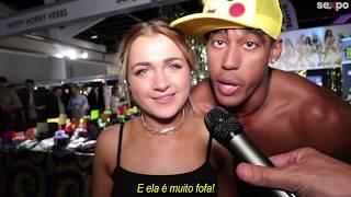 CHICLETE ROSA: COMO LAMBER? | BR NA GRINGA