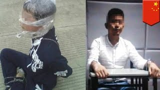 getlinkyoutube.com-유괴된 소년, 예전에 봤던 범죄 영화의 탈출 장면을 따라해 탈출 성공