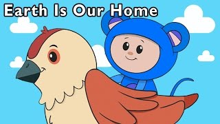 getlinkyoutube.com-Explore the World With Eep! | Earth Is Our Home and More | Baby Songs from Mother Goose Club!