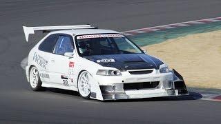 getlinkyoutube.com-2015.2.14 Tsukuba Time Attack NA Class - 筑波最速戦