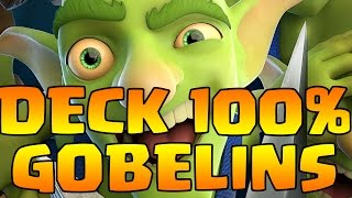 getlinkyoutube.com-DEFI FOU 100% CARTES GOBELINS ! FEAT BFA ! CLASH ROYALE