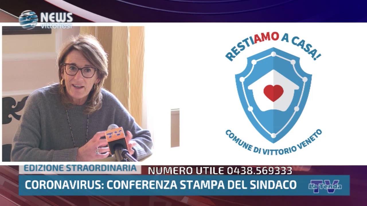 Edizione Straordinaria - Coronavirus - Conferenza stampa del sindaco Antonio Miatto