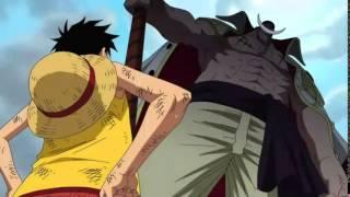 getlinkyoutube.com-One Piece: Luffy gặp Râu Trắng ở Marineford (Vietsub)