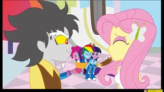 "getlinkyoutube.com-MLP: Discord and Fluttershy - ""3"" ( Equestria Girls )"