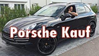 getlinkyoutube.com-OT-VLOG #2 - Porsche Cayenne gekauft: Mein erstes Auto mit 23