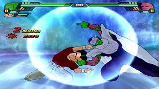 getlinkyoutube.com-Piccolo & Krillin Fusion | Prillin vs Super Buu Dragon Ball Z Budokai Tenkaichi 3 (MOD)