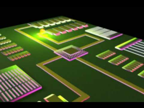 Robert Egnacheski - Mech CPU 3D Animation 1 of 2 (by Robert Egnacheski)