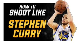 getlinkyoutube.com-How to Shoot like Stephen Curry: Shooting Form Blueprint